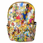 The Simpsons - Extended Cast All-Over Print Backpack - Packshot 1