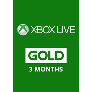 Xbox Live Gold Membership - 3 Months