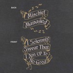 Harry Potter - Mischief Managed T-Shirt - Packshot 3