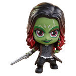 Marvel - Guardians of the Galaxy: Vol. 2 - Gamora Cosbaby Hot Toys Bobble Head Figure - Packshot 1