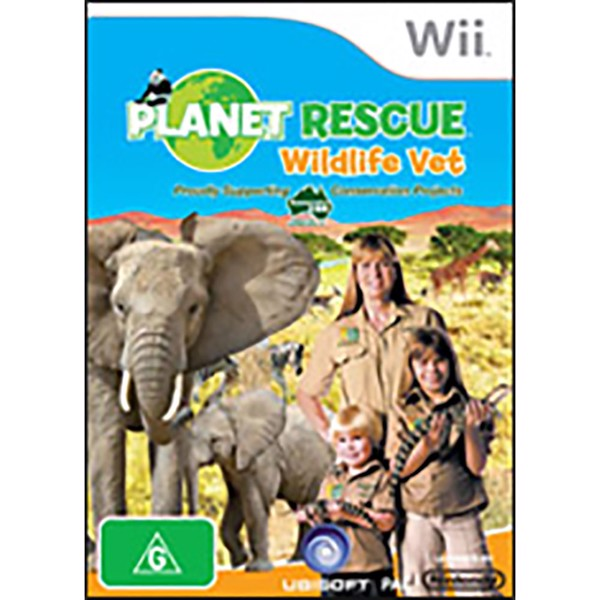 Planet Rescue: Wildlife Vet - Packshot 1