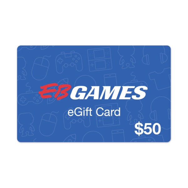 $50 EB Games Gift Card - Packshot 1
