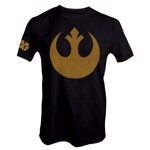 Star Wars - Rebel Logo Gold T-Shirt - S - Packshot 1