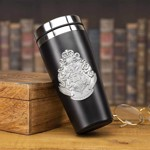 Harry Potter - Hogwarts Metal Travel Mug - Packshot 3