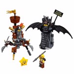 The LEGO Movie 2 - LEGO Battle-Ready Batman™ and MetalBeard Construction Set - Packshot 2
