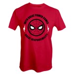 Marvel - Spider-Man Great Power T-Shirt - Packshot 1