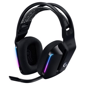 Logitech G733 Lightspeed Wireless RGB Gaming Headset - Black