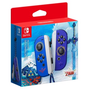 Nintendo Switch Joy-Con The Legend of Zelda Skyward Sword Controller Set