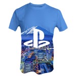 Sony - PlayStation City View T-Shirt - XL - Packshot 1