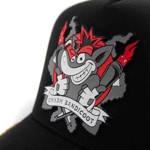 Crash Team Racing - Crash Inspired Black Snapback - Packshot 2