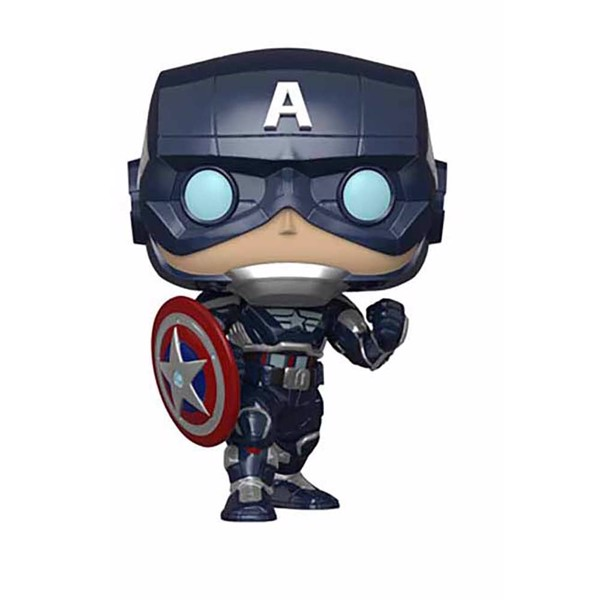 Marvel's Avengers - Captain America Glow Pop! Vinyl Figure - Packshot 1