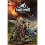 Jurassic World - Dinosaurs Running Poster - Packshot 1