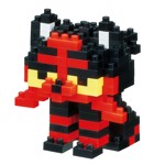 Pokemon - Litten Nanoblocks Figure - Packshot 1