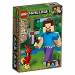 Minecraft - LEGO Steve BigFig with Parrot - Packshot 5