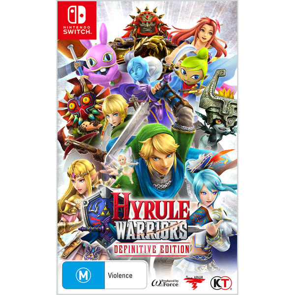 Hyrule Warriors: Definitive Edition - Packshot 1
