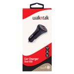 WalknTalk - Dual USB Car Charger - 4.8A - Packshot 1