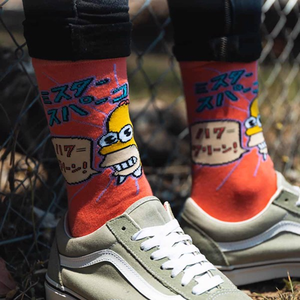The Simpsons - Mr Sparkle Socks - Packshot 4