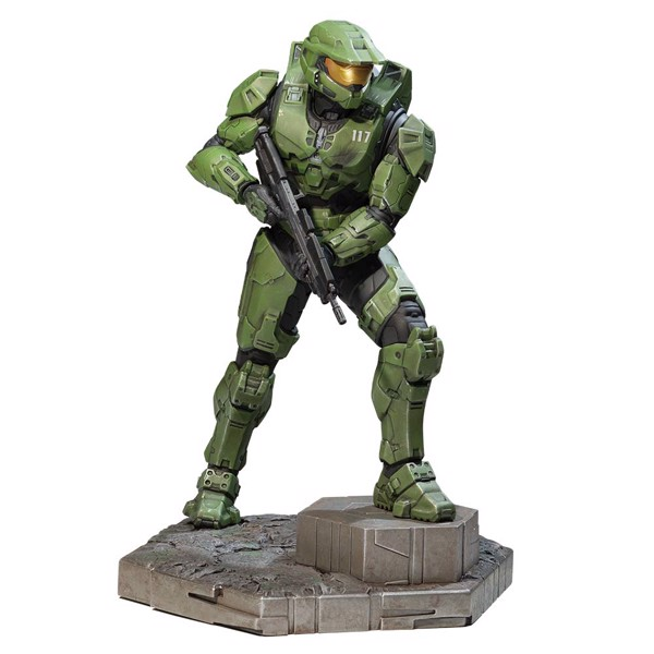 Halo Infinite - Master Chief Statue - Packshot 1