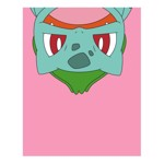 Pokemon - Bulbasaur Upside Down T-Shirt - L - Packshot 2