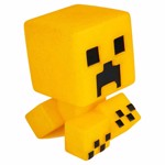 Minecraft - Gold Creeper 10 year Anniversary Mega Bobble Mobs Figure - Packshot 2