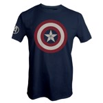 Marvel - Avengers: Endgame - Captain America Blue T-shirt - Packshot 1