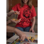 Nintendo - Super Mario Bros - Mario Red T-Shirt - XS - Packshot 3