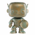 Marvel - 80th Anniversary Captain America Patina Pop! Vinyl Figure - Packshot 1