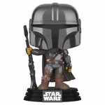 Star Wars: The Mandalorian - Mandalorian Chrome Pop! Vinyl Figure - Packshot 1