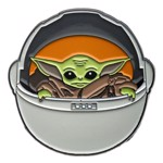 Star Wars - The Mandalorian The Child Carriage Lapel Pin - Packshot 2