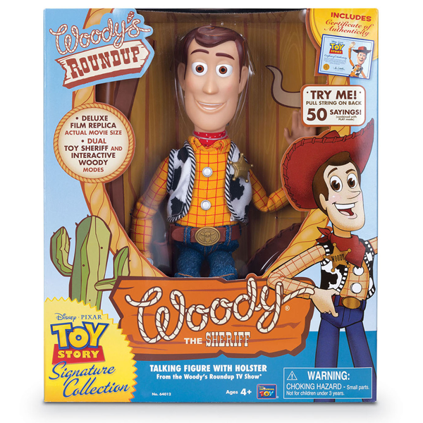 "Disney - Toy Story - Woody 12"" Talking Figure - Packshot 2"