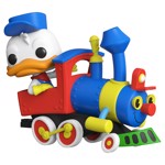 Disney - Disneyland 65th Anniversary Donald in Casey Jr Train Pop! Ride - Packshot 1