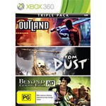 Ubisoft Triple Pack - Outland, From Dust, Beyond Good and Evil - Packshot 1