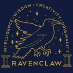 Harry Potter - Ravenclaw Traits Blue T-Shirt - Packshot 2