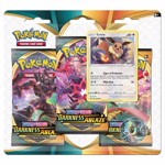Pokemon - TCG - Sword & Shield Darkness Ablaze Three-Booster Blister (Assorted) - Packshot 1