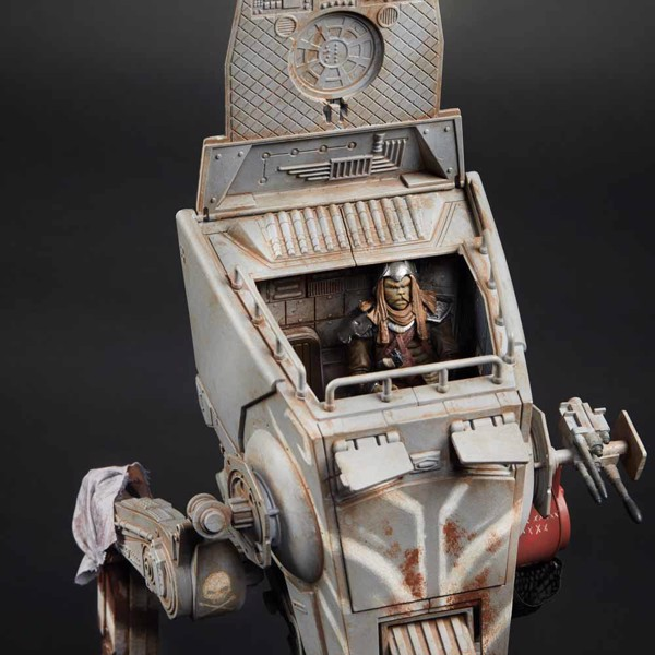 Star Wars - The Vintage Collection The Mandalorian AT-ST Raider Toy Vehicle - Packshot 3