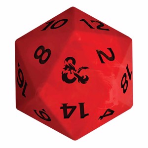 Dungeons & Dragons - Colour Changing D20 Lamp