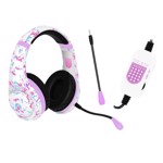 Stealth Raider White and Pink Headset - Packshot 1