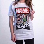 Marvel - Marvel 80th Anniversary - 80 Years T-Shirt - Packshot 6