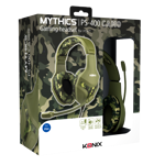 Konix PS - 400 Camo Gaming headset - Packshot 3