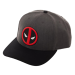 Marvel - Deadpool Logo Grey Snapback Cap - Packshot 1
