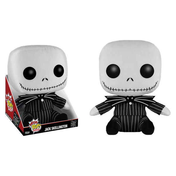 "Disney - Nightmare Before Christmas - Jack Skellington 12"" Funko Pop! Plush - Packshot 1"