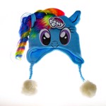 My Little Pony - Rainbow Dash With Mane Beanie - Packshot 1