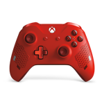 Xbox One S Wireless Controller Sport Red - Packshot 1