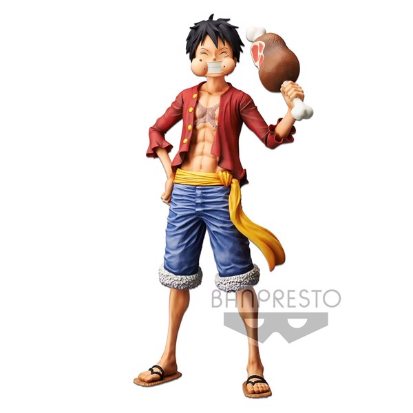 One Piece - Monkey D. Luffy  28 cm Grandista Nero Figure - Packshot 3