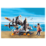 How to Train Your Dragon - Eret with 4-Shot Ballista PlayMobil Construction Set - Packshot 2