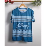 Disney - Blue Logo Christmas T-Shirt - L - Packshot 4