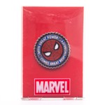 Marvel - Spider-Man Mask & Motto Enamel Pin - Packshot 2