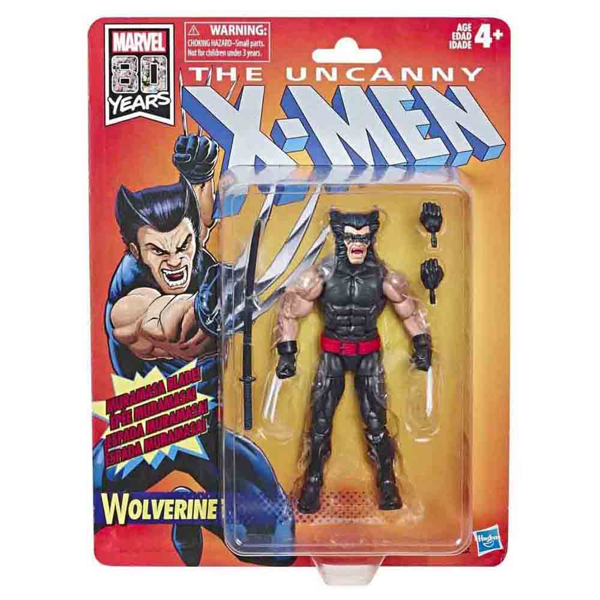 Marvel - X-MEN - Wolverine Retro Legends Figure - Packshot 2