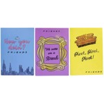 Friends - Friends Quotes Set of 3 Notebooks - Packshot 1
