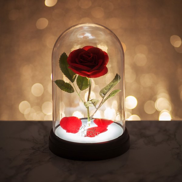 Disney - Beauty & the Beast Enchanted Rose Light - Packshot 3